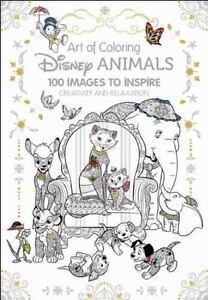 Art Of Coloring Disney Animals 100 Images To Inspire Creativity And Relaxation By Catherine Saunier Talec Book Group 2016 Hardcover