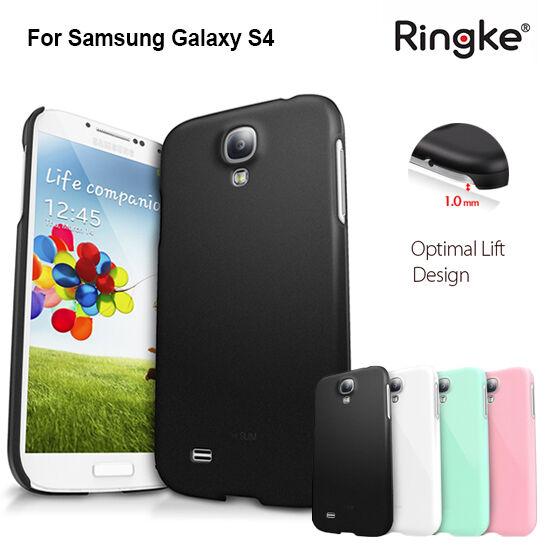 Genuine Ringke Ultra Slim Thin Hard Back Case Cover For Samsung Galaxy S4