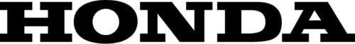"2 #101 8.25/"" Honda Tank Decal Stickers Matte Black CB CBR CBF"