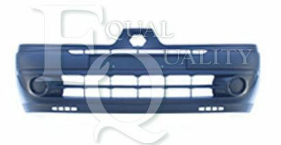 BB0//1//2/_, P0294 EQUAL QUALITY Paraurti anteriore con modanatura RENAULT CLIO II