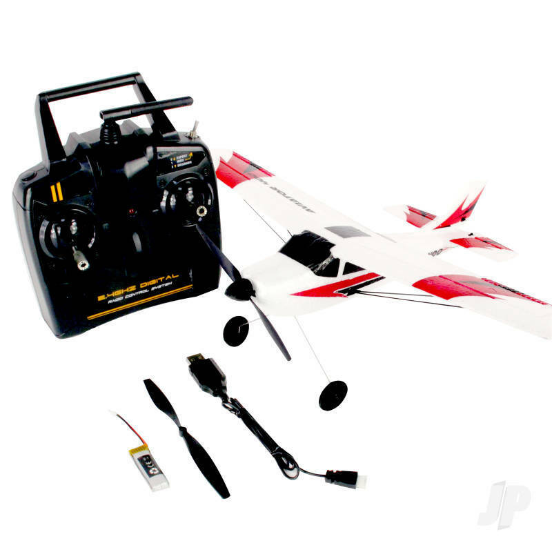 Aviator 400 RTF - Ready To Fly Mini RC Plane with 3 Channel RC System 2.4Ghz