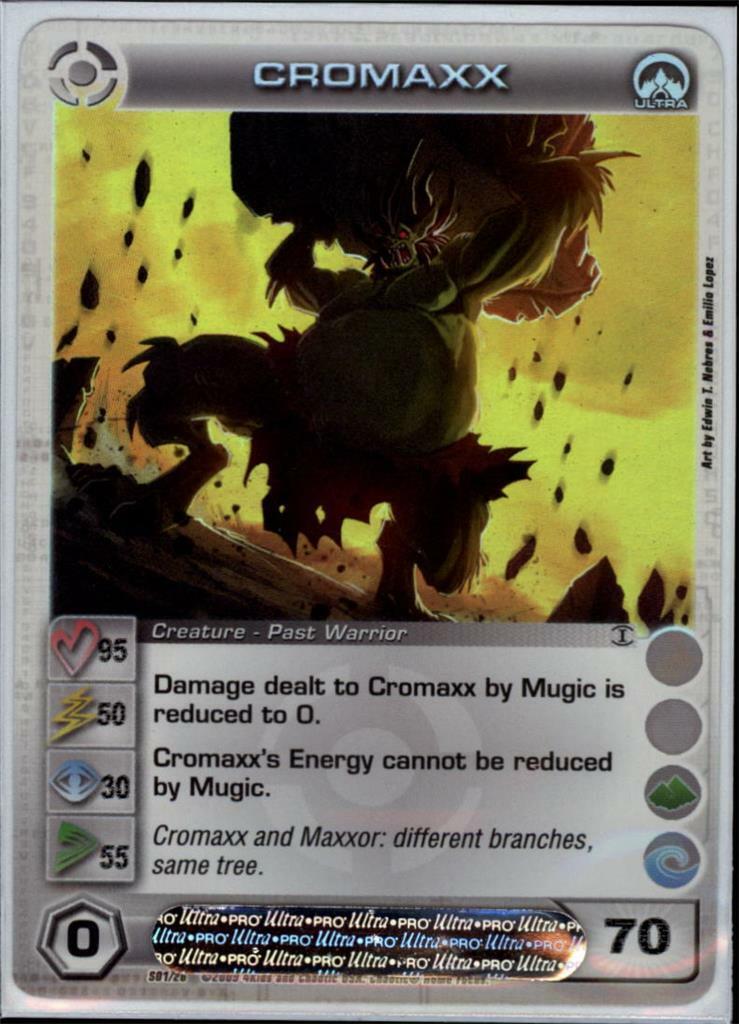 (cc1036) CROMAXX Chaotic bild (Courage 95 Power 50 Wisdom 30 Speed 55 Energy 70)