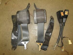 Original mg midget seat belt