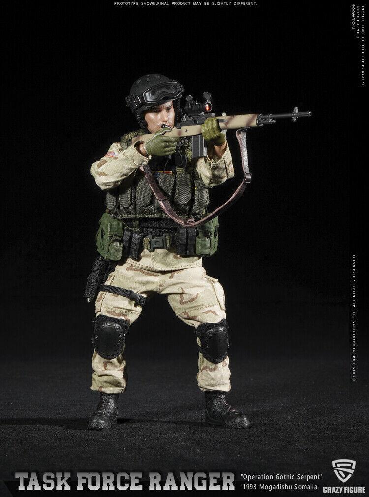 CrazyFigure LW005 1//12 US Delta Special Force Master Sergeant Tactical Vest