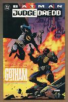 """Batman & Judge Dredd TPB - """"Vendetta In Gotham!"""" - 1993 (Grade 9.2)"""
