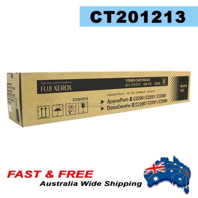 Genuine Xerox CT201213 Black Toner Cartridge (DC III C2200/2201/3300)