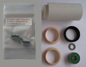 MAVIC STD 000 FREEHUB BUSHING /& BALL BEARING REPLACEMENT REBUILD KIT