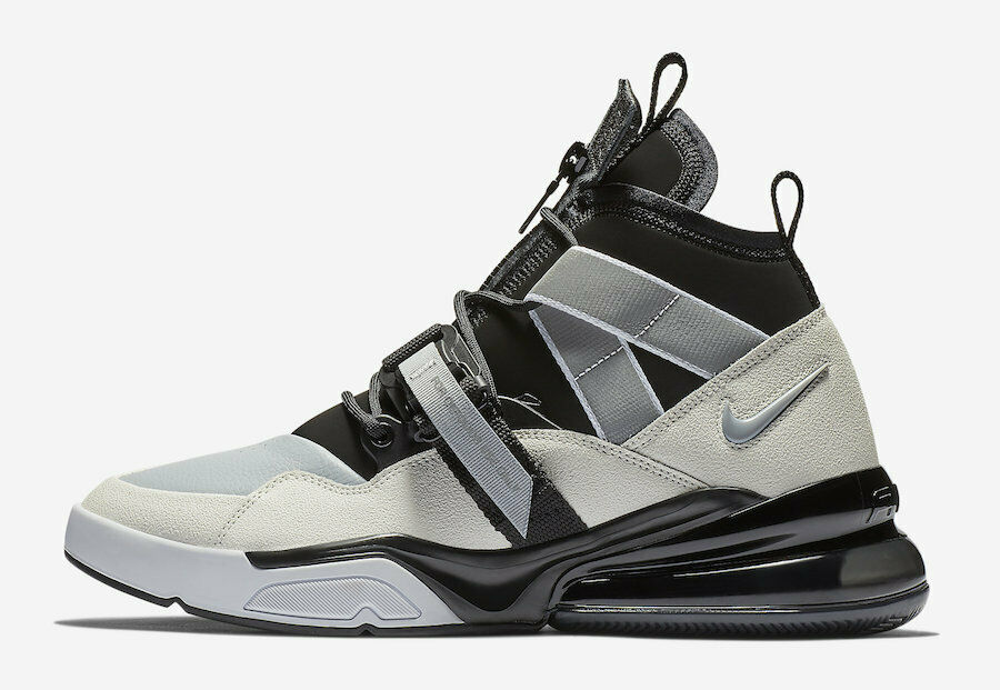 NIKE AF 270 UTLY MENS  AQ0572-003 BLKSAIL WOLFGRY