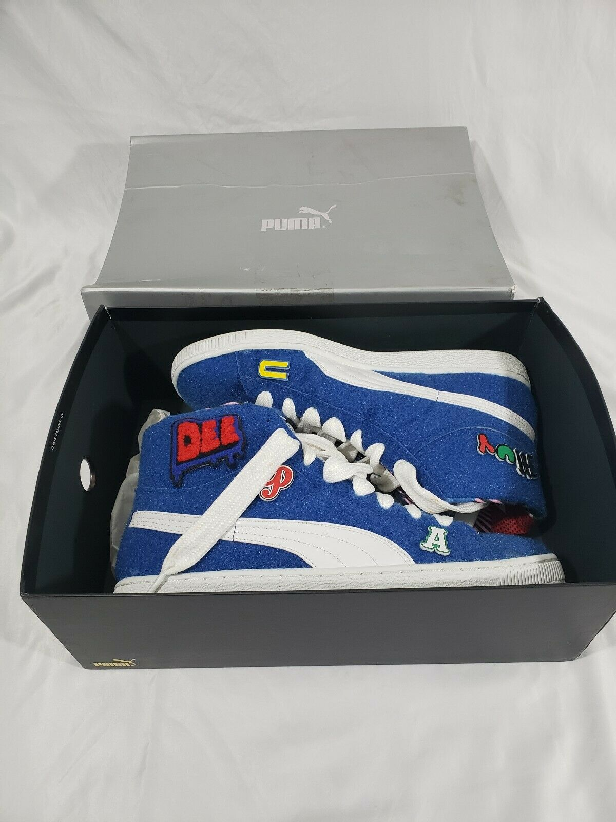 Para hombre (360085 02) Puma Dee Ricky CR Basket Mid x and US 10