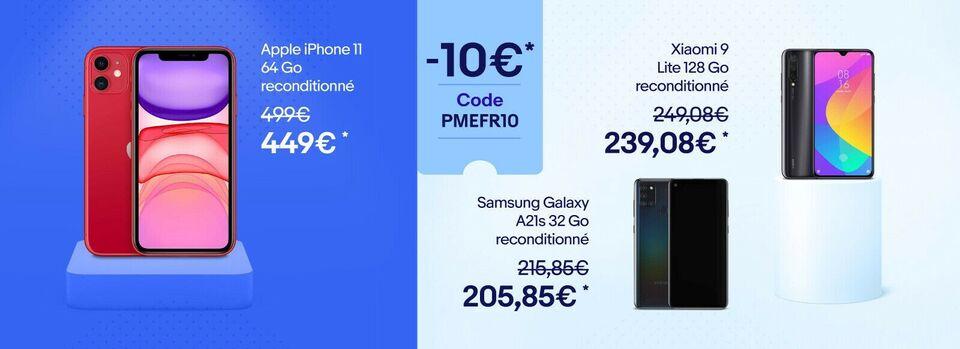 J'utilise mon code - 10€* offerts avec le code PMEFR10 !
