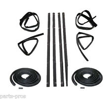 FOR 1980-93 DODGE RAM TRUCK New 2-piece Fairchild Belt Weatherstrip Kit