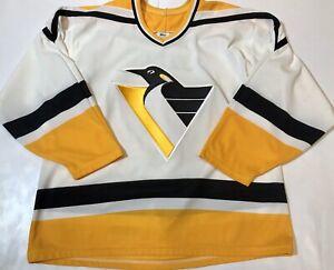 Vintage-Maska-CCM-1990-s-Jaromir-Jagr-Pittsburgh-Penquins-Mens-Large-NHL-Jersey