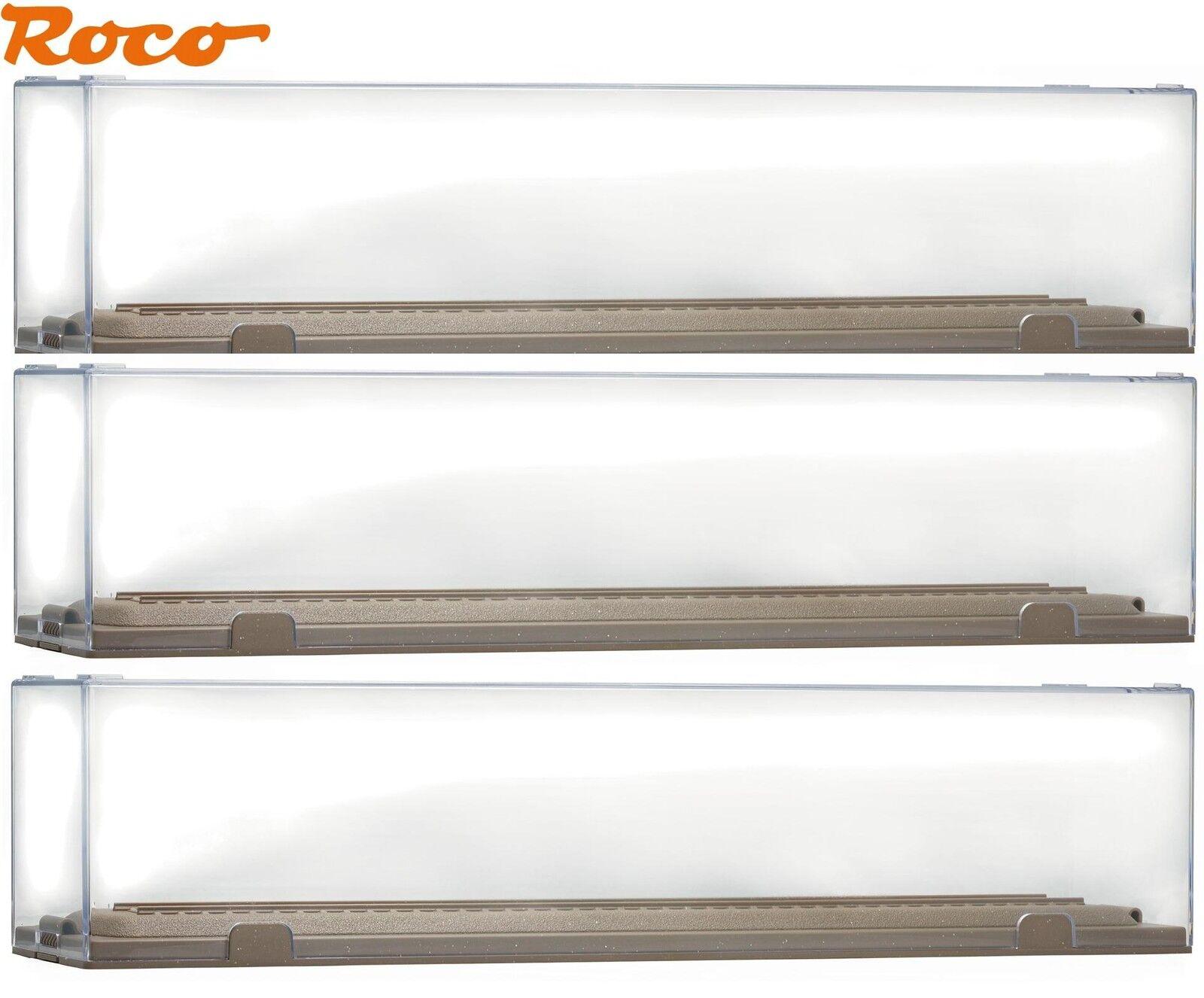 Roco H0 40026-S Vetrina/Vetrina Dimostrativa per Modelli fino a 290 Mm  3 Pezzi