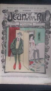Rivista Jeans Che Rit N° 350 1907 Giornale Illustre che Appaiono Il Venerdì ABE