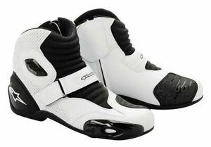 Alpinestars-S-MX1-Size-41-Euro-White-Black-SUPER-SALE