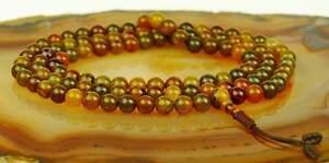 Mala-Agata-Wow-de-Moho-Collar-Perlas-Gema-Piedra-Curativa-Meditacion-Buda-110b