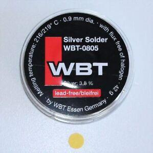 En 0805 Silver Solder Argent à Souder Silberlot 42 G Sur Bobine Neuf-afficher Le Titre D'origine Vnzscs0p-07155409-956610952