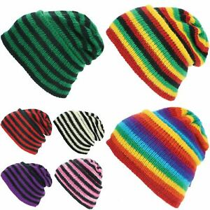 8225c637871 Wool Knit Hat Ridge Beanie Fleece Lining Pork Pie New Warm Winter ...