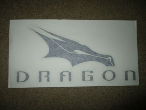 """SPACEX DRAGON Rocket nasa space Spacecraft Official DECAL STICKER 4/"""" laptop wall"""