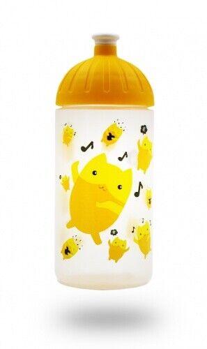 BPA-frei ISYbe Kindergarten-Trinkflasche Kohlensäure auslaufsicher Emoji 0,5