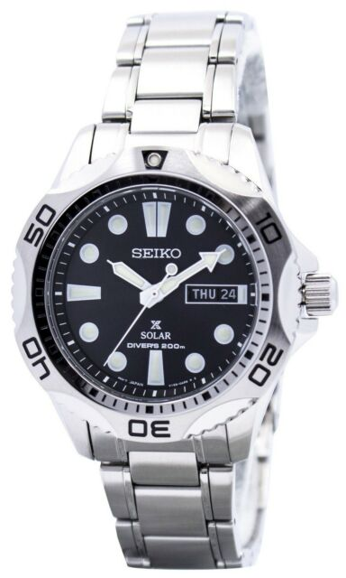 Seiko Solar Mens Scuba Divers Sports Watch SNE107 SNE107P1 SNE107P Mens Watch