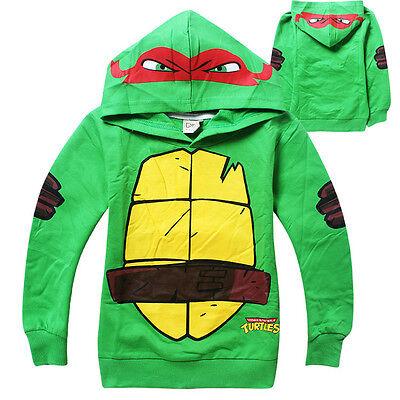 Teenage Mutant Ninja Turtles Baby Kids Boys Tops T-Shirt Hoodie Pullover Costume