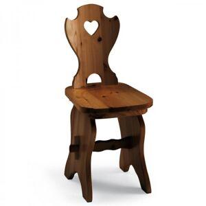 Sedie In Legno Rustiche.Dettagli Su Sedia In Legno Rustica Country Vari Colori