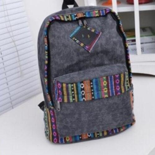 Damen Mädchen Rucksack Schultertasche Schultasche Reise Schulranzen Backpack