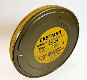 KODAK-16mm-Double-X-B-amp-W-Neg-Movie-Film-7222-400FT-250-ISO-NEW-FACTORY-FRESH