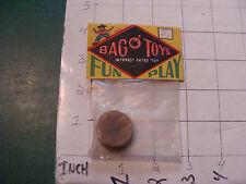 vintage TRICK/GAG/JOKE, 1950'S SEALED --bag o' toys STIK-TRIK DOUBLE SUCTION CUP