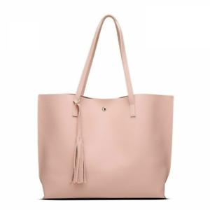 Tassel-Tote-Handbags-Large-Shoulder-Bags-Slot-Pocket-Hasp-Bag-For-Women-Fashion