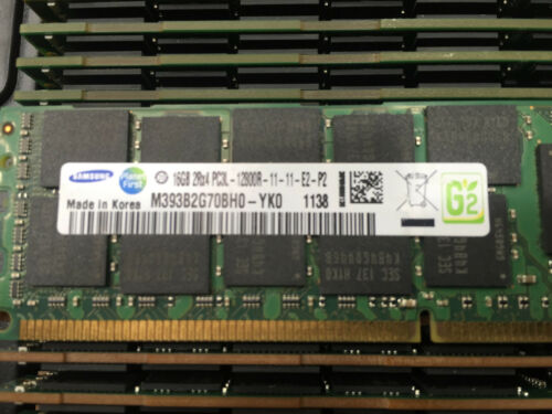 M393B2G70BH0-YK0 SAMSUNG 16GB PC3-12800 DDR3-1600MHz ECC Registered CL11 240-Pin
