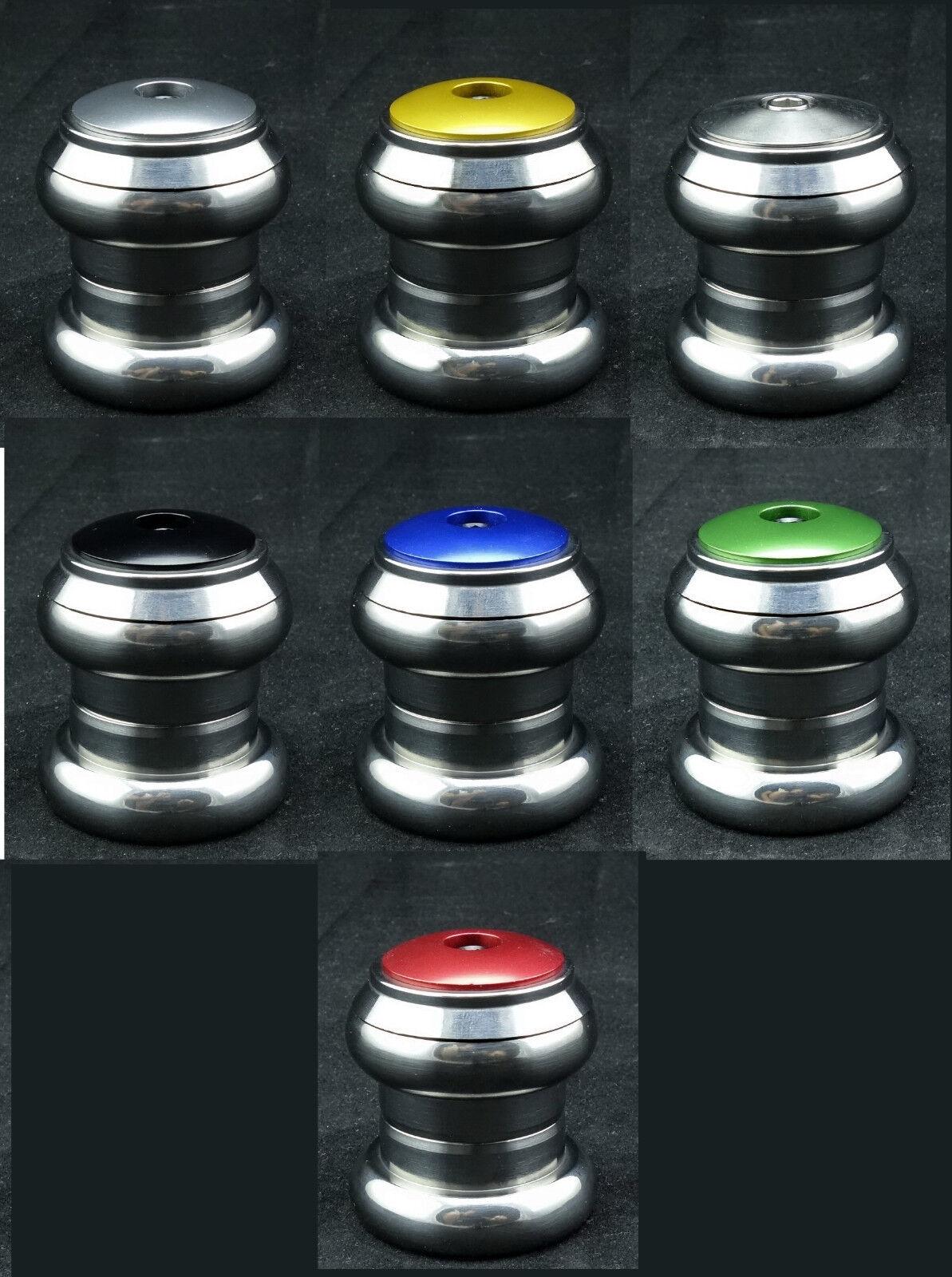 J&L Titanium Ti Ceramics Bearing External Headset 1'1 8 -34MM-105g