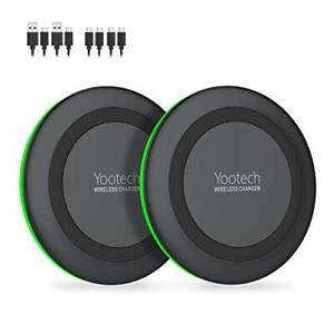 Yootech [2 Pack] Wireless Charger,Qi-Cer