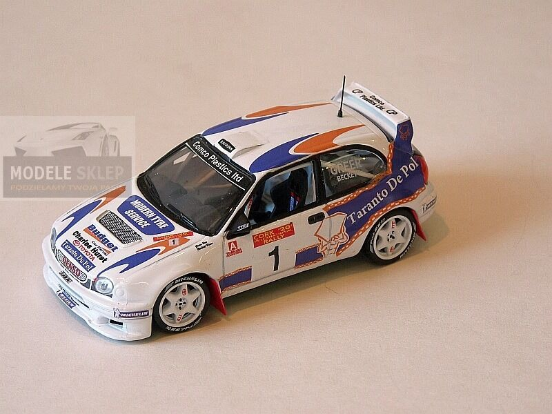 Ultimo 2018 Irish ASFALTO RtuttiY AUTO Collection Ian Greer CoroLLA WRC WRC WRC RtuttiY SUGHERO 2000  punti vendita