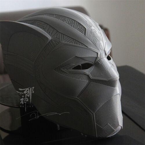 Marvel Black Panther 3D Printing Cosplay Helmet PLA Full Head Mask Halloween New
