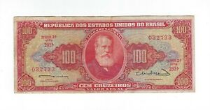 100-Cruzeiros-Bresil-1963-c096-p-180-Brazil-billet