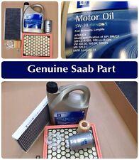 Genuine Saab 9-3 1.9 TiD Engine Oil SERVICE KIT 06-2011 - Filters, Oil, Washer