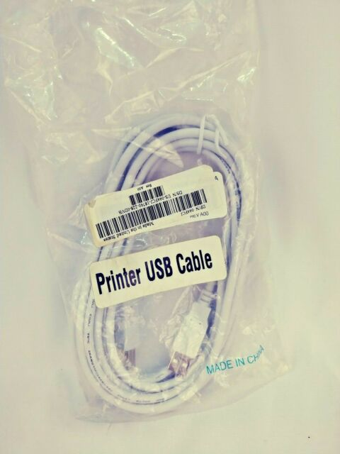 U2A1-B1-10-2PK New 2Pcs 5ft USB2.0 A Male to B Male Printer Scanner Cable Black