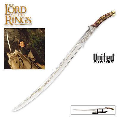 United Cutlery HADHAFANG ARWEN EVENSTAR SWORD UC1298 Replica Lord LotR RARE