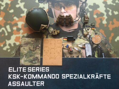 DAMTOYS allemand KSK ASSAULTER A-Frame Ballistic Casque loose échelle 1//6th