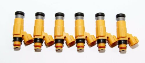 Fuel Injectors fit Mitsubishi 97-04 Diamante 3.5L V6//97Montero 3.0L V6 6Pieces