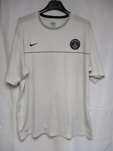 Maillot-PARIS-PSG-entrainmement-NIKE-training-shirt-blanc-XXL