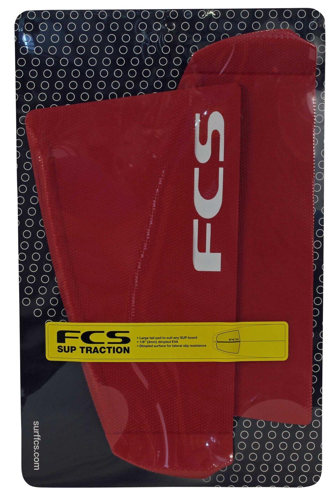 Fcs Sup Cola Dimples tracción Pad-Rojo Profundo-Nuevo