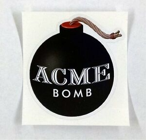 Acme-Bomb-looney-tunes-Wile-E-coyote-sticker-decal-3-034-x3-2-034