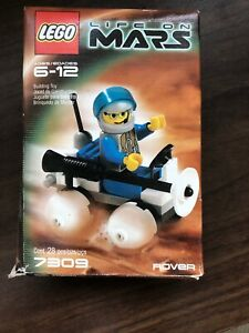 Lego-life-on-Mars-building-toy-7309-Rover-Vehicle-Figure-Box-COMPLETE