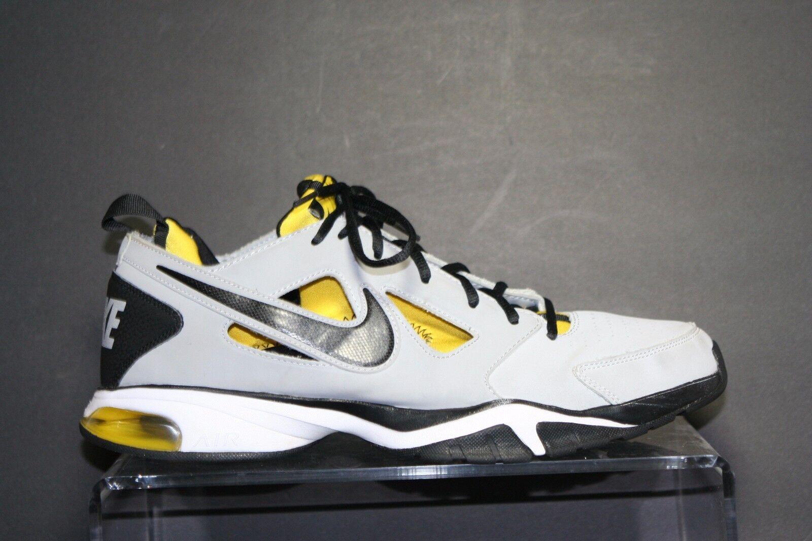 Nike Air Compete TR 2 '12 Running Sneaker Huarache Men 12 Athletic Multi Grey