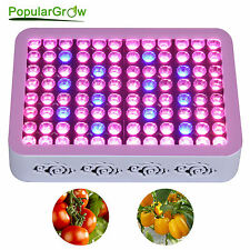 PopularGrow 300W LED Grow Light Double Chip COB Indoor Plant Hydroponics System