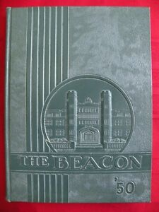 Details About 1950 Grover Cleveland High School Yearbook The Beacon St Louis Missouri Mo