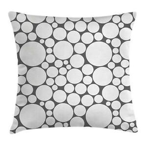 Details about Geometric Circle Throw Pillow Cases Cushion Covers Ambesonne Home Decor 8 Sizes